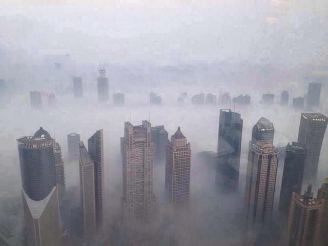 china smog air pollution
