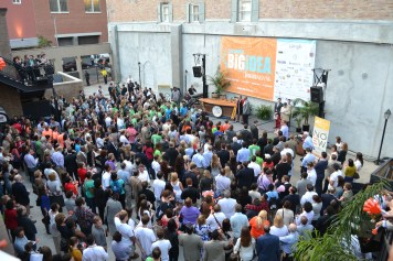 Every year, The Big Idea attracts a large crowd at the final pitches during the culmination of New Orleans Entrepreneur Week.