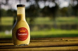 Hanley's salad dressing flavor Sensation launched back in 2012.