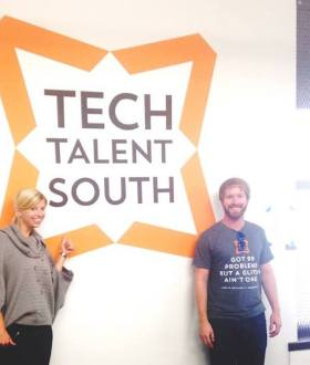 Tech Talent South co-founders Betsy Hauser Idilbi and Richard Simms have brought their code immersion program to New Orleans.