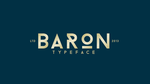 Free Font Friday: BARON
