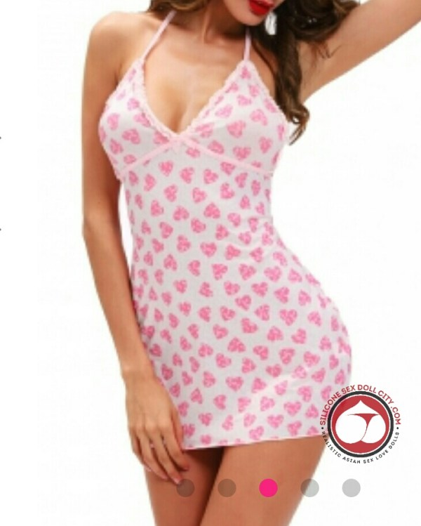 Pink Heart Chemise
