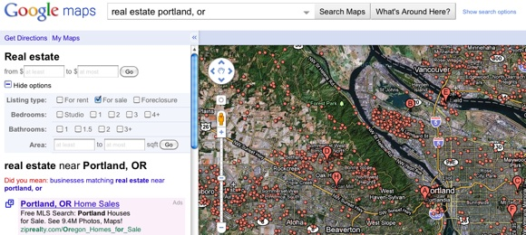 Death by Zillow? Google Retires Google Maps Real Estate Listings ...