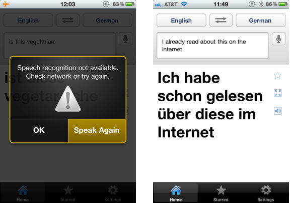 google translate for iphone