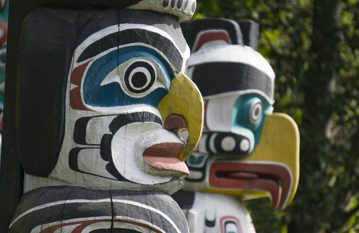 first nations totem