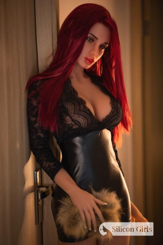 ruby sex doll 165 medium silicone head 604