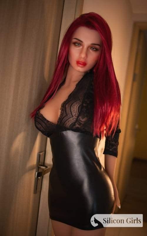 ruby sex doll 165 medium silicone head 608