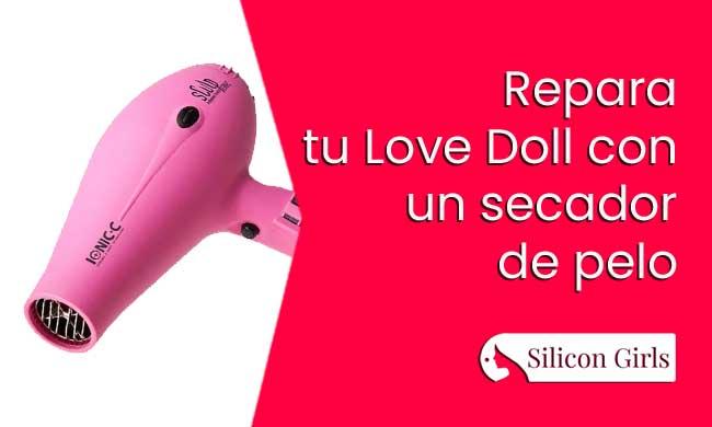 repara tu sex doll secador pelo