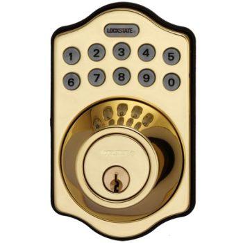 deadbolt bronze lock