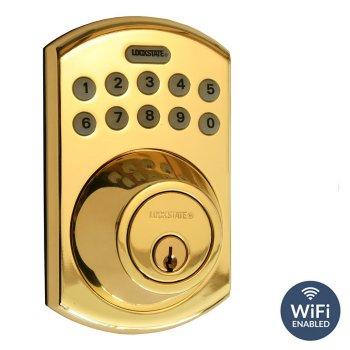 Remote Lock 5i DB WiFi Front Brass