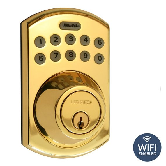 Remote Lock 5i DB WiFi Front Brass