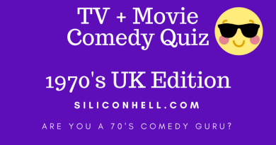 Siliconhell 1970s comedy quiz