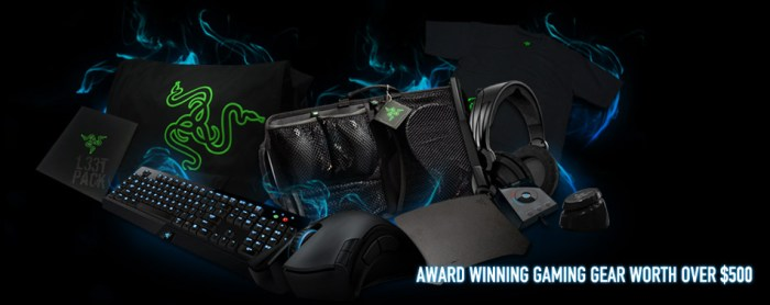 Win the Ultimate Razer Gaming Setup