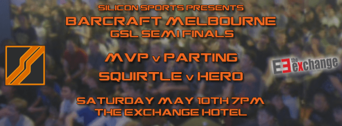 BarCraft Melbourne - GSL Semi Finals