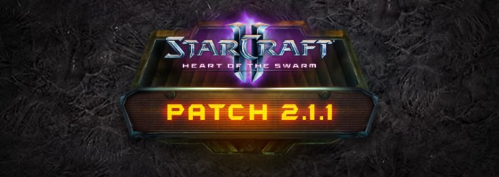 SC2 Patch 2.1.1