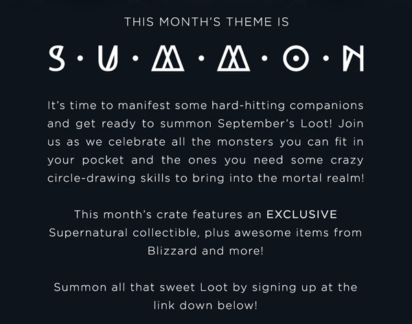 Summon Lootcrate