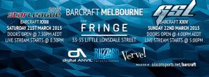 BarCraft Melbourne 23 & 24
