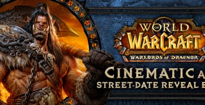 Warlords of Draenor Cinematic & Release Date