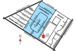 AA Leland Manor Map