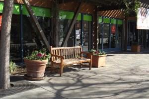 AA Midtown Palo Alto Bench