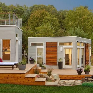 Is it possible that accessory dwelling units could solve for Prefab granny unit california