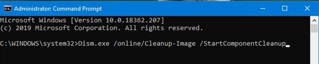 Windows 10 Clean-up; WinSxS Clean-Up!