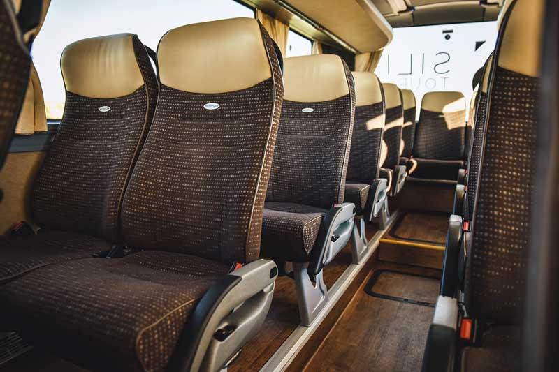 Neoplan Cityliner - vnutro