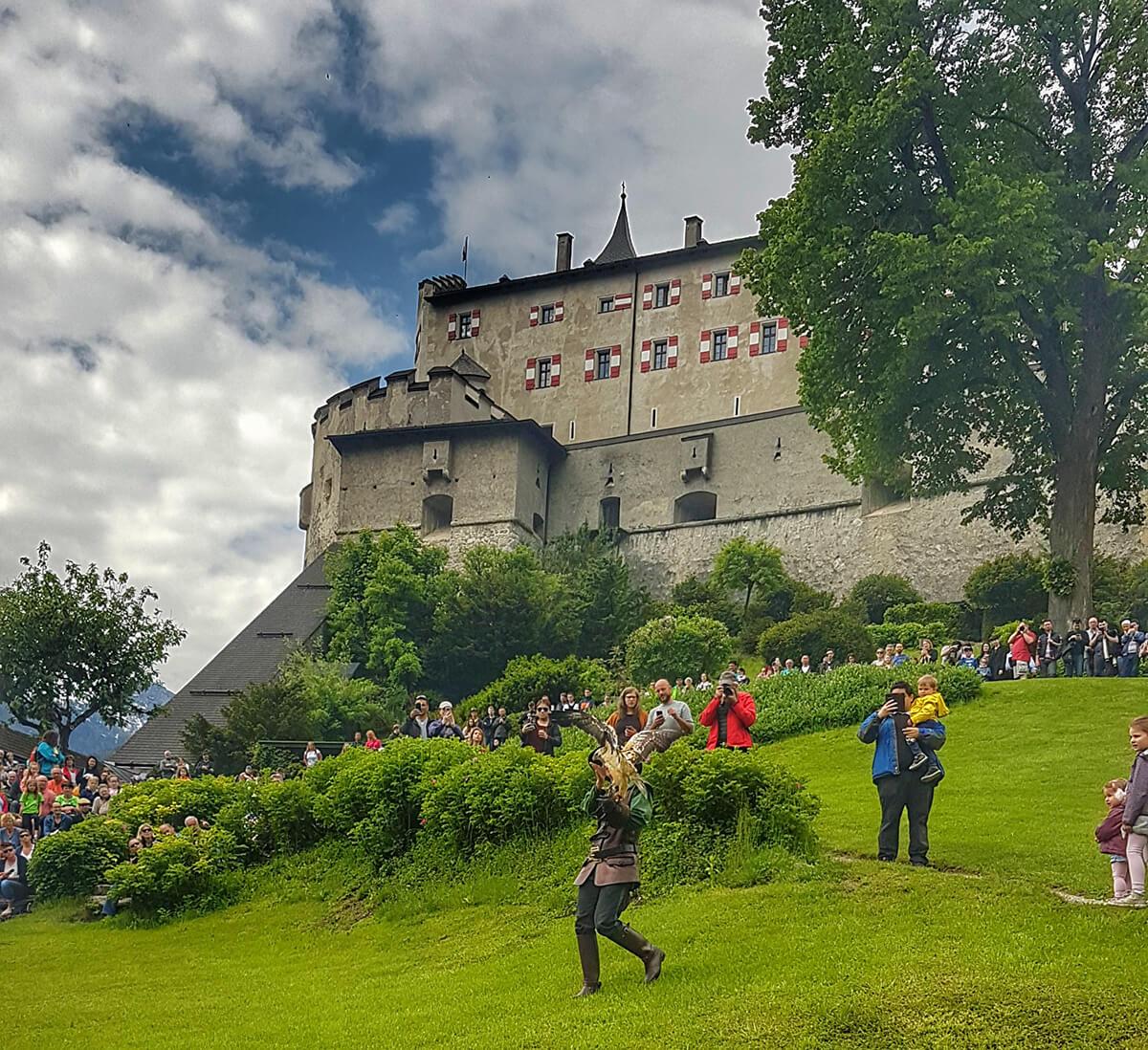 Sili Tours - blog Alpy Hohenwerfen
