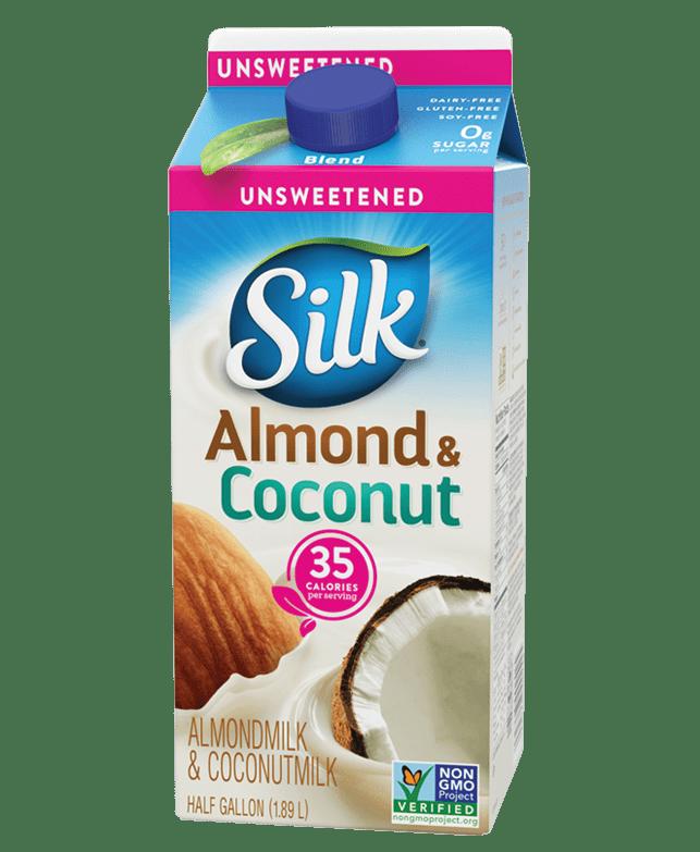 unsweet almondmilk coconutmilk blend