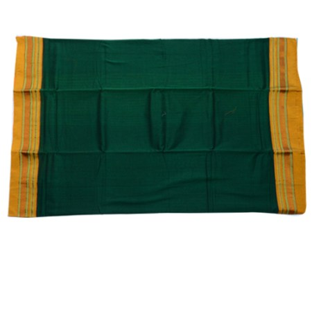 Plain chikki Border Saree