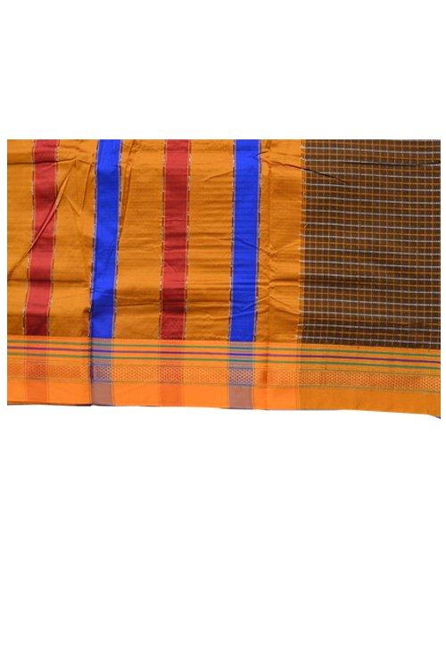 Ilkal Cotton Chaduranga Chikki Sarees