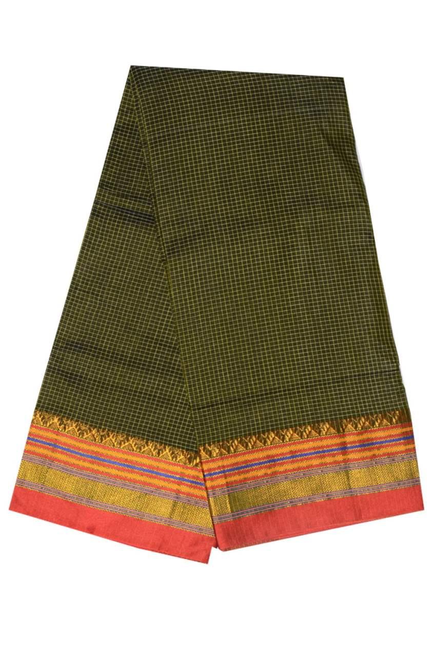 Ilkal Silk by Cotton Ragawali chikki Saree