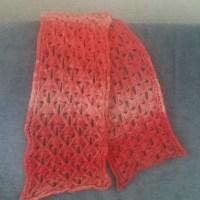 Marishka Lace Scarf - Free Knitting Pattern.