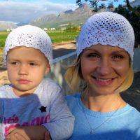 Summer crochet beanies - free pattern