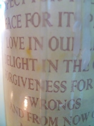 Prayer Candle for the Millennium