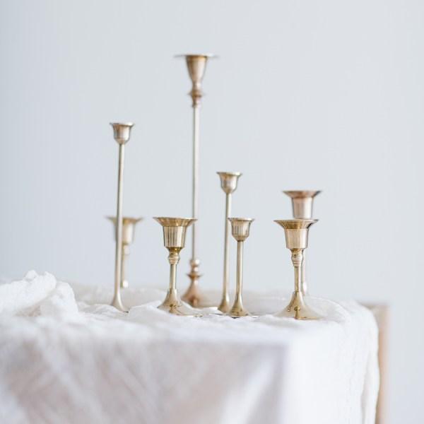 Kerzenständer Messing