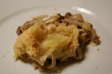 Oven Dish with Endive and Mince