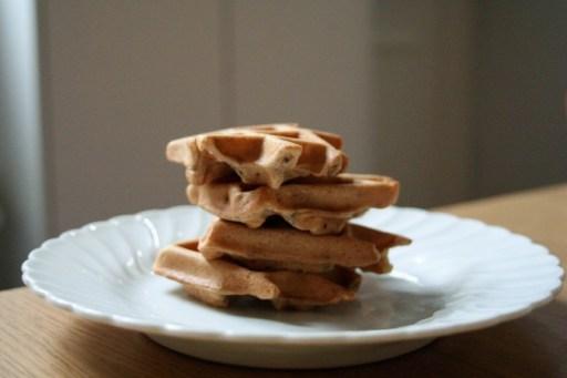 Chia waffles