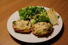 Crunchy Leek Tartelettes