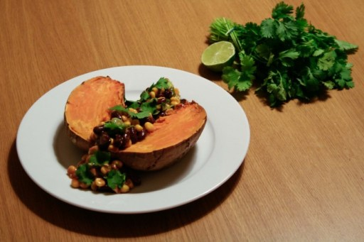 Gepofte Zoete Aardappel