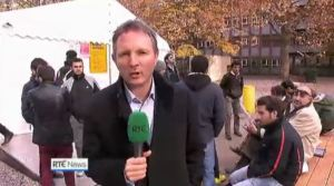 2015 RTE Refugee Crisis , News, Producer for RTE Irish Television Tony Connelly