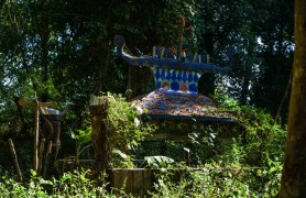Tampuan graves are never visited after the funeral - they just fall apart