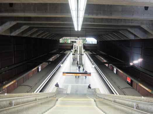 Vienna - or Wien Train Station