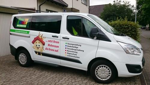 Fahrzeugbeschriftung Bernd Kronen