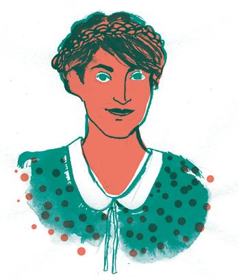 Kragen, Kalender, Illustration Silke Müller, Linz