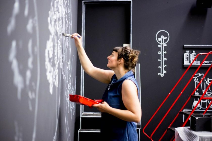 Medusa Bar · Illustration: Silke Müller und Katja Seifert für Time's Up
