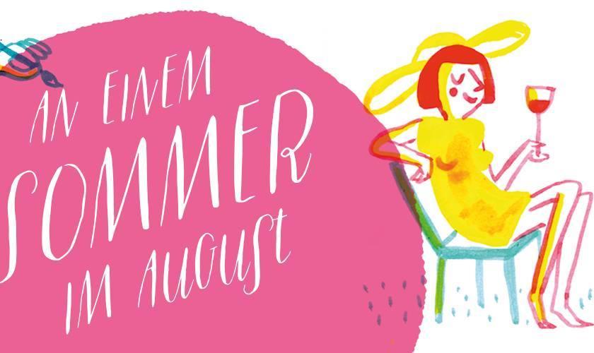 Ausstellung in Rostock, Sommer im August, Illustration: Tine Schulz