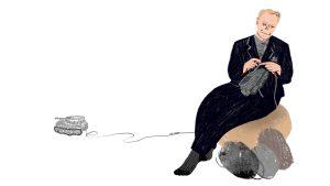 Boulevardzeitung Augustin, Illustration: Silke Müller