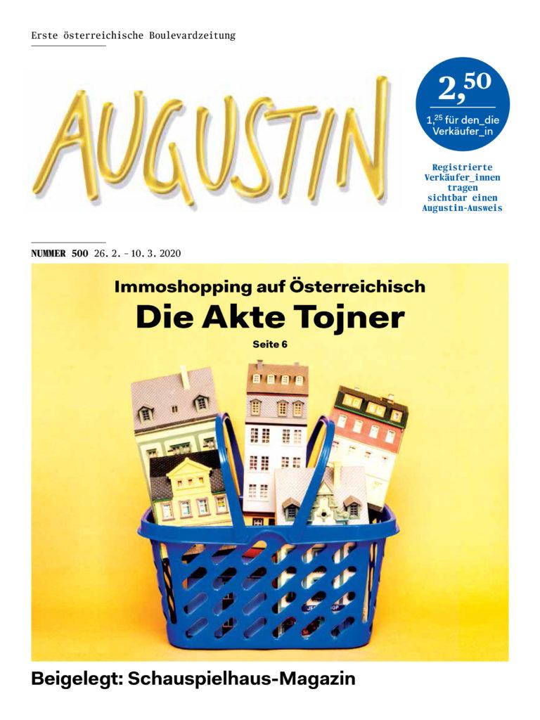 Ausgabe 500 Augustin Boulevardzeitung
