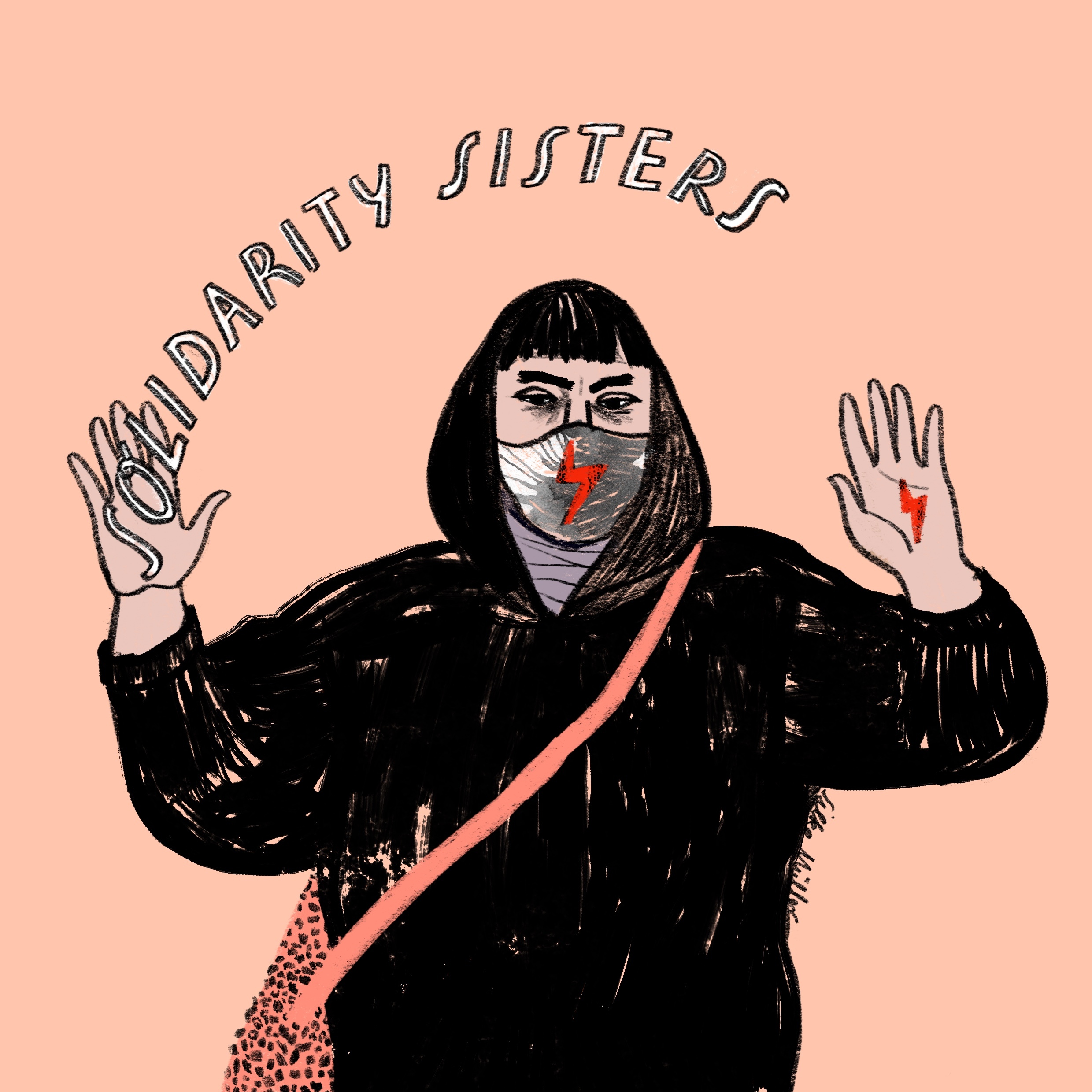 strajk kobiet | polish women strike | Illustration: Silke Müller |